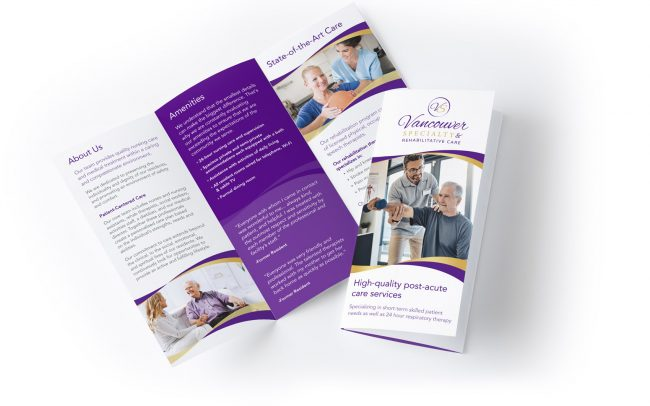 Brochure Design for Vancouver Specialty